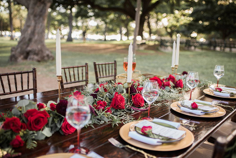 Christmas Themed Wedding Inspiration In Hawaii