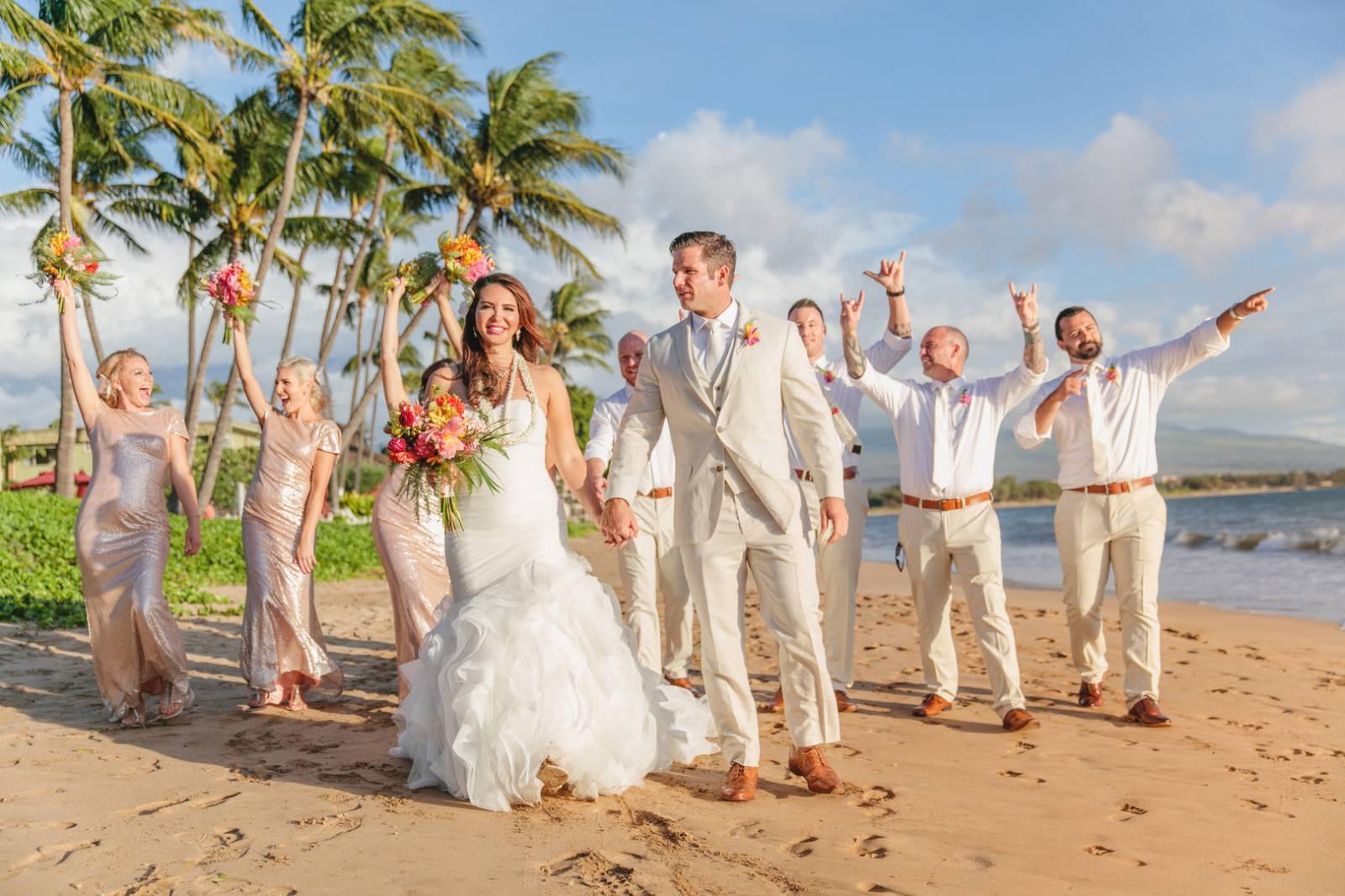 A Fabulous Destination Wedding In Paradise