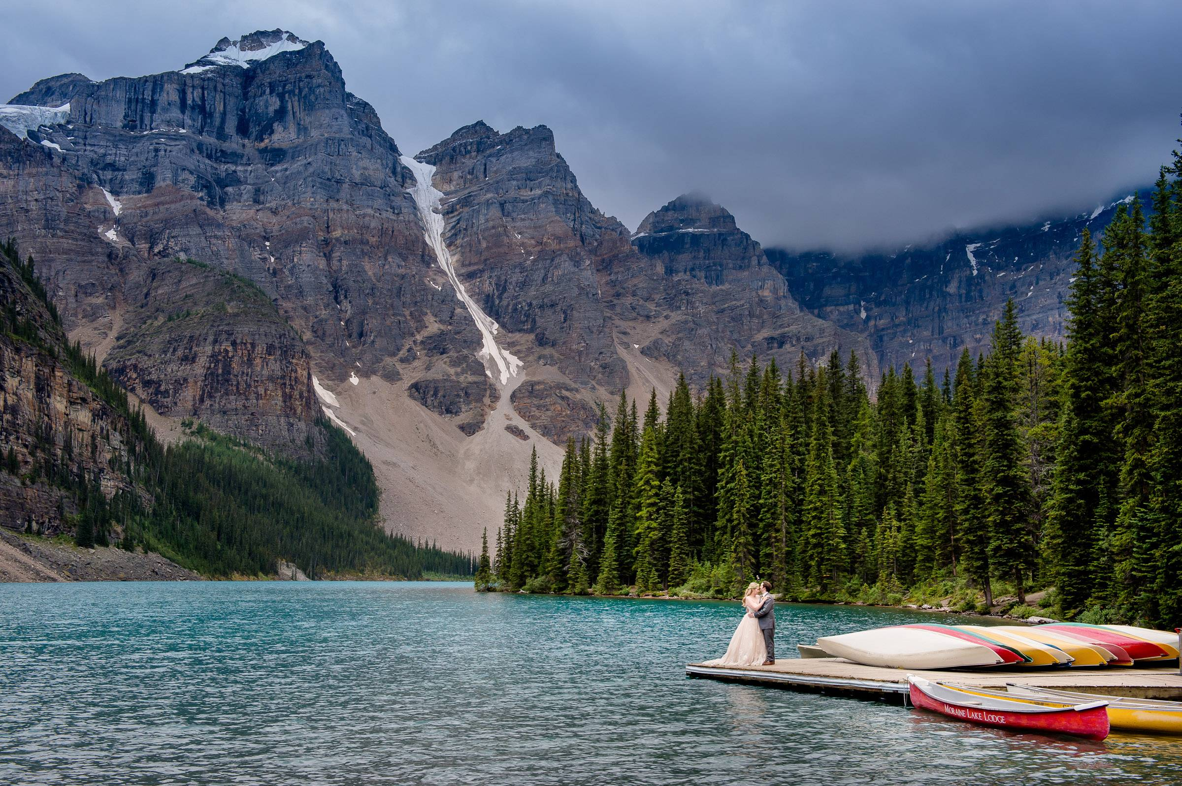 Canoe Moraine Lake Profile Portfolio Canoe Moraine Lake