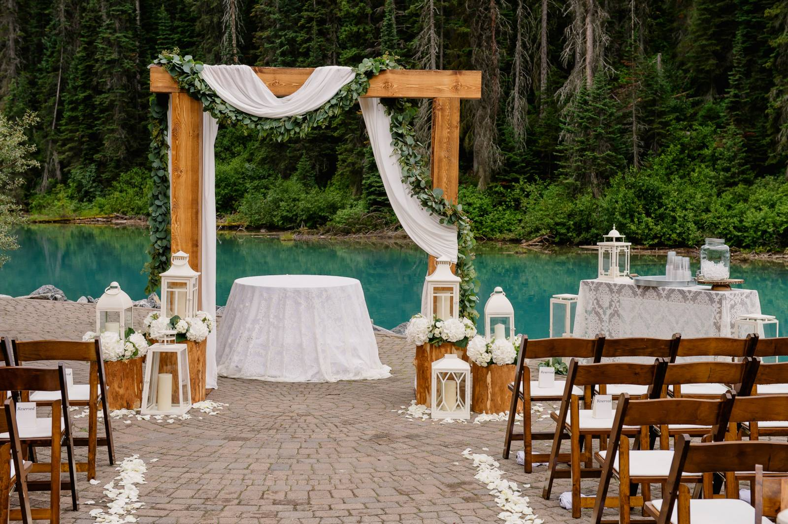 tips for a destination canadian rockies mountain wedding wedding