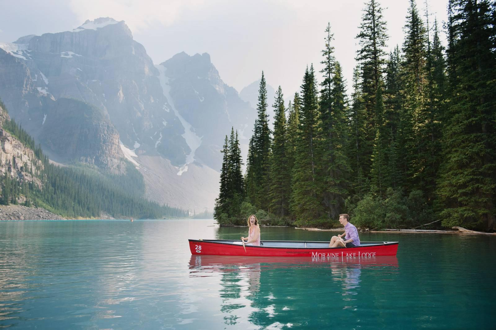 Moraine Lake Canoe Proposal