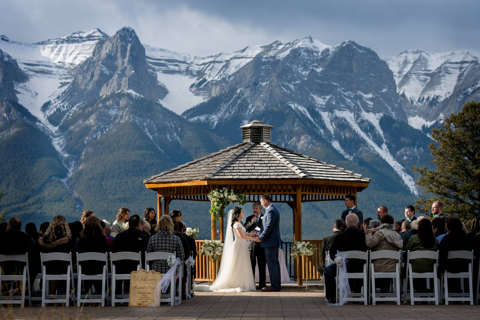 Silvertip Wedding Ceremony