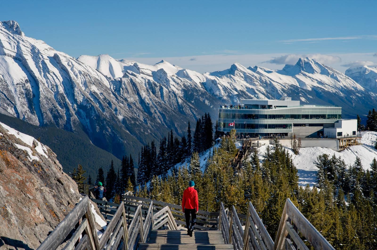 Banff Gondola   Alberta