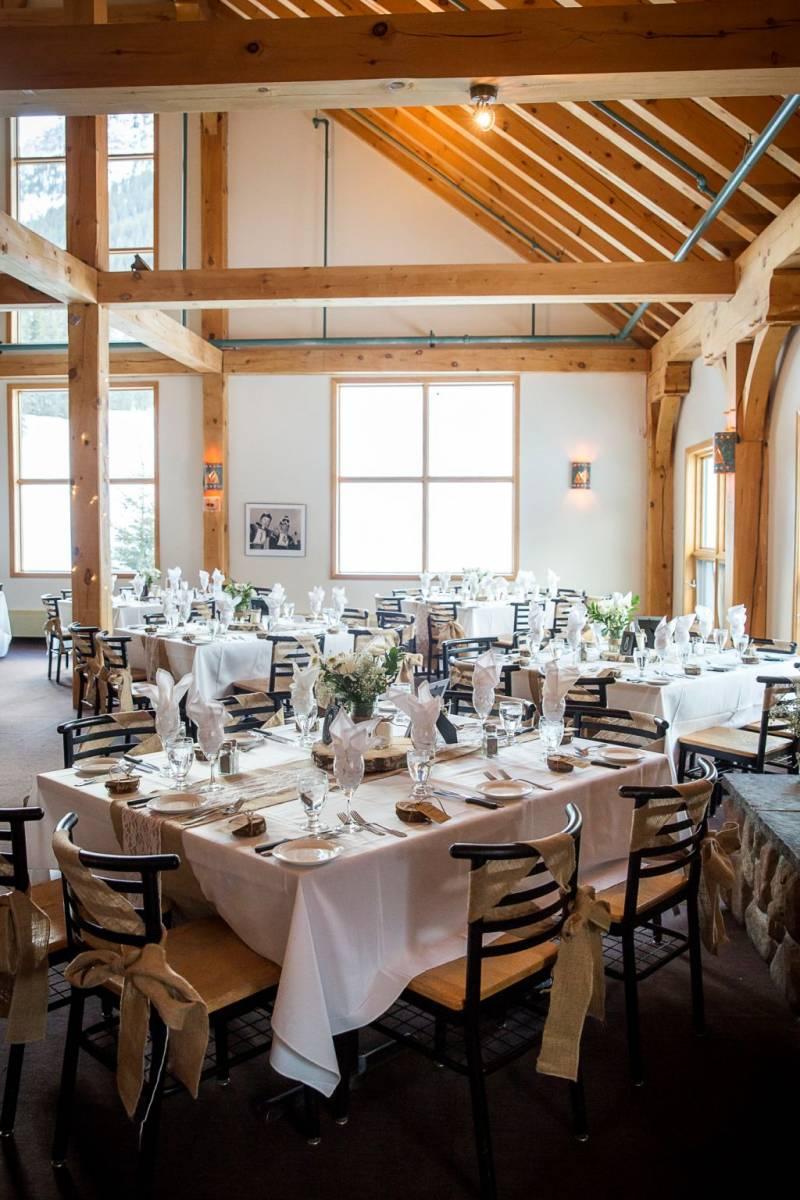 Banff Winter Wedding At The Norquay Ski Lodge Photography Item 41