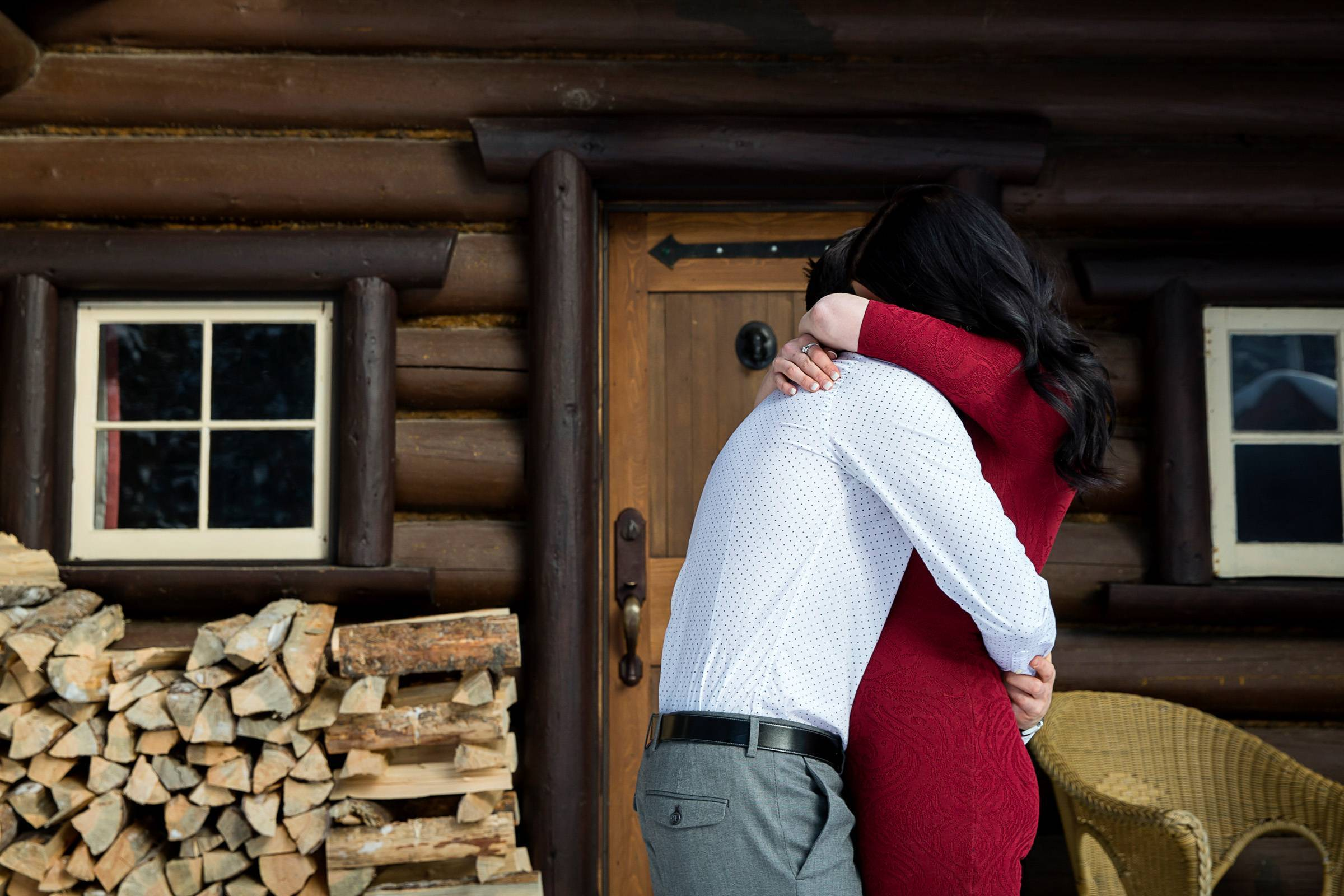 Storm Mountain Lodge Proposal, Banff Proposal, Banff wedding photographer, Banff proposal photograph