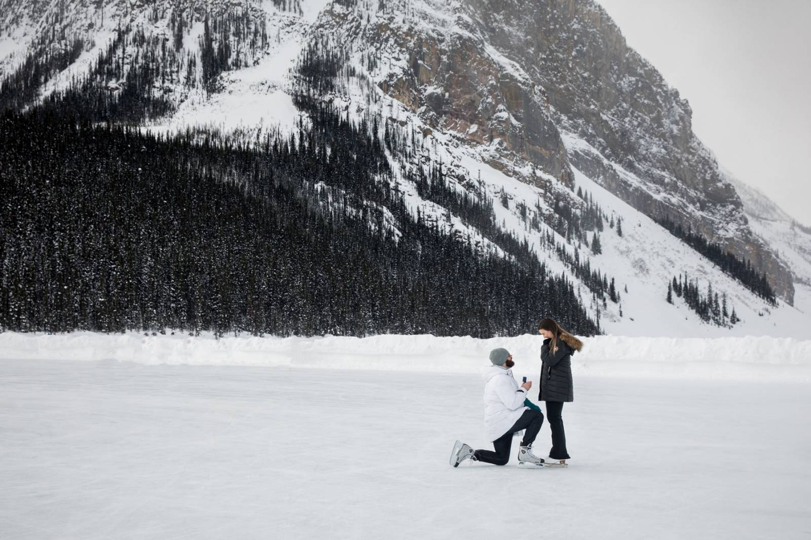 Fairmont Banff Springs Fairmont Banff Springs Proposal, Banff Engagement Photos, Banff Proposal Phot