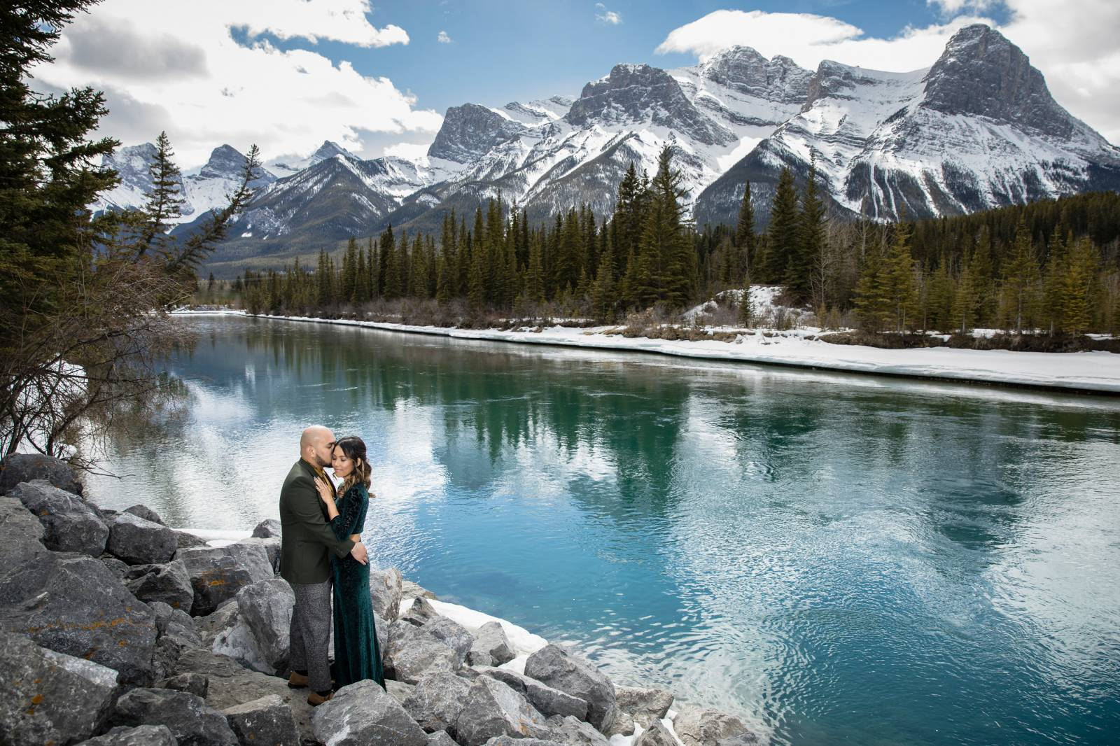 Canmore Engagement Photographer, Engagement Photography, Canmore Engagement