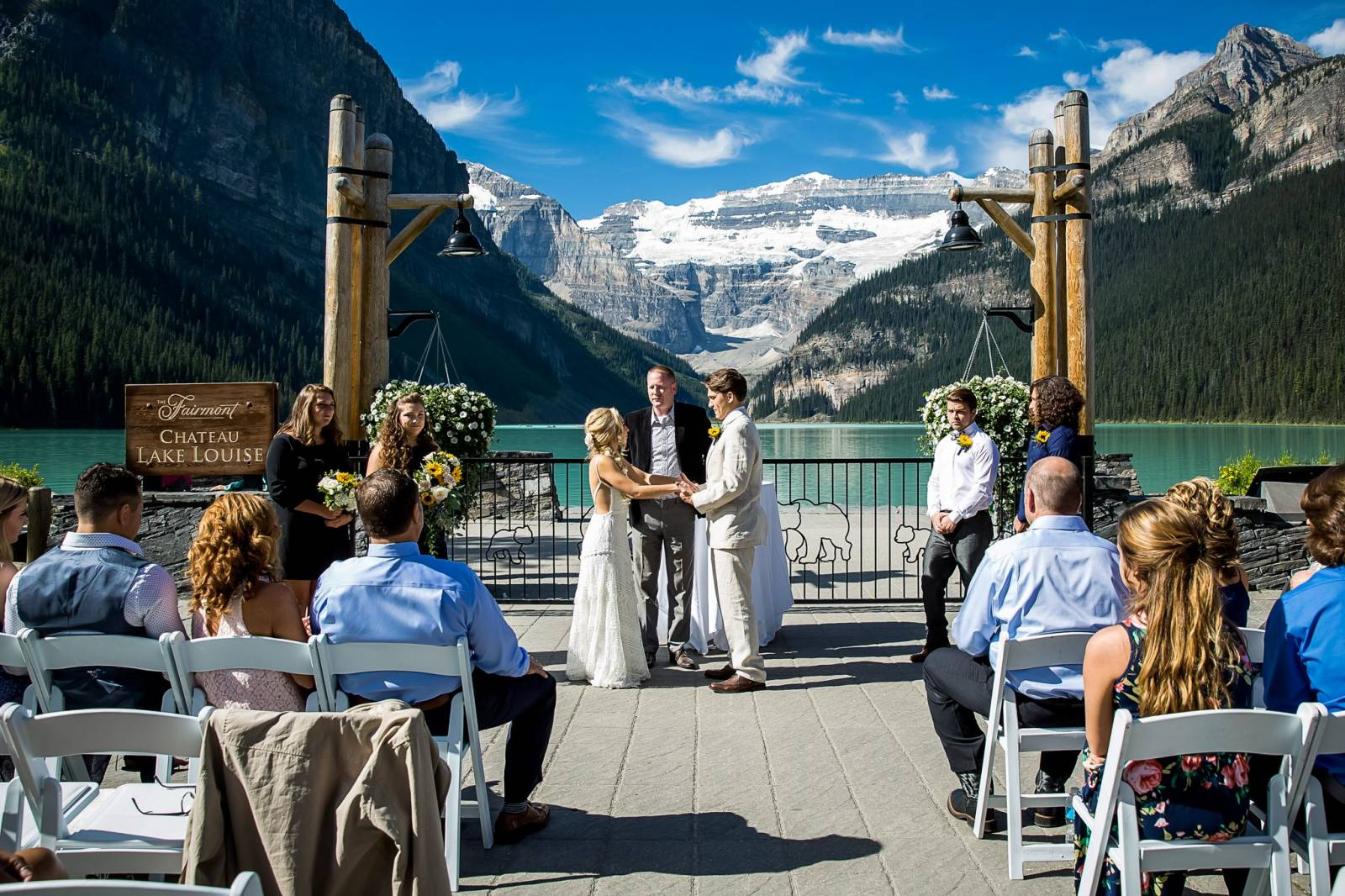 Lake Louise Intimate Summer Wedding Photography Item 20