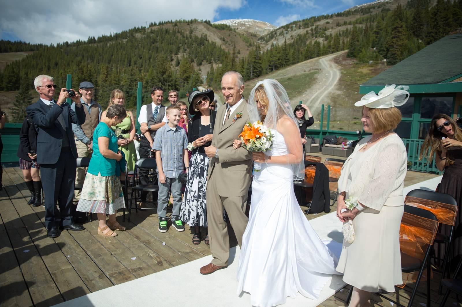 amazing mountain wedding in lake louise | kiley and mark | lake louise
